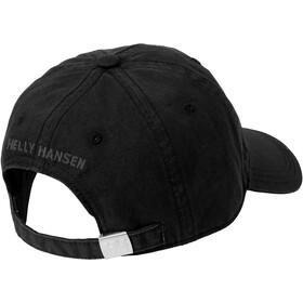 Helly Hansen Logo Casquette, black